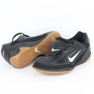 90s Nike Tiempo Mens 10 Indoor Soccer Shoes Black